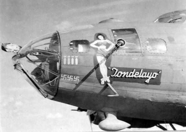 B-17 #42-29896 / Tondelayo