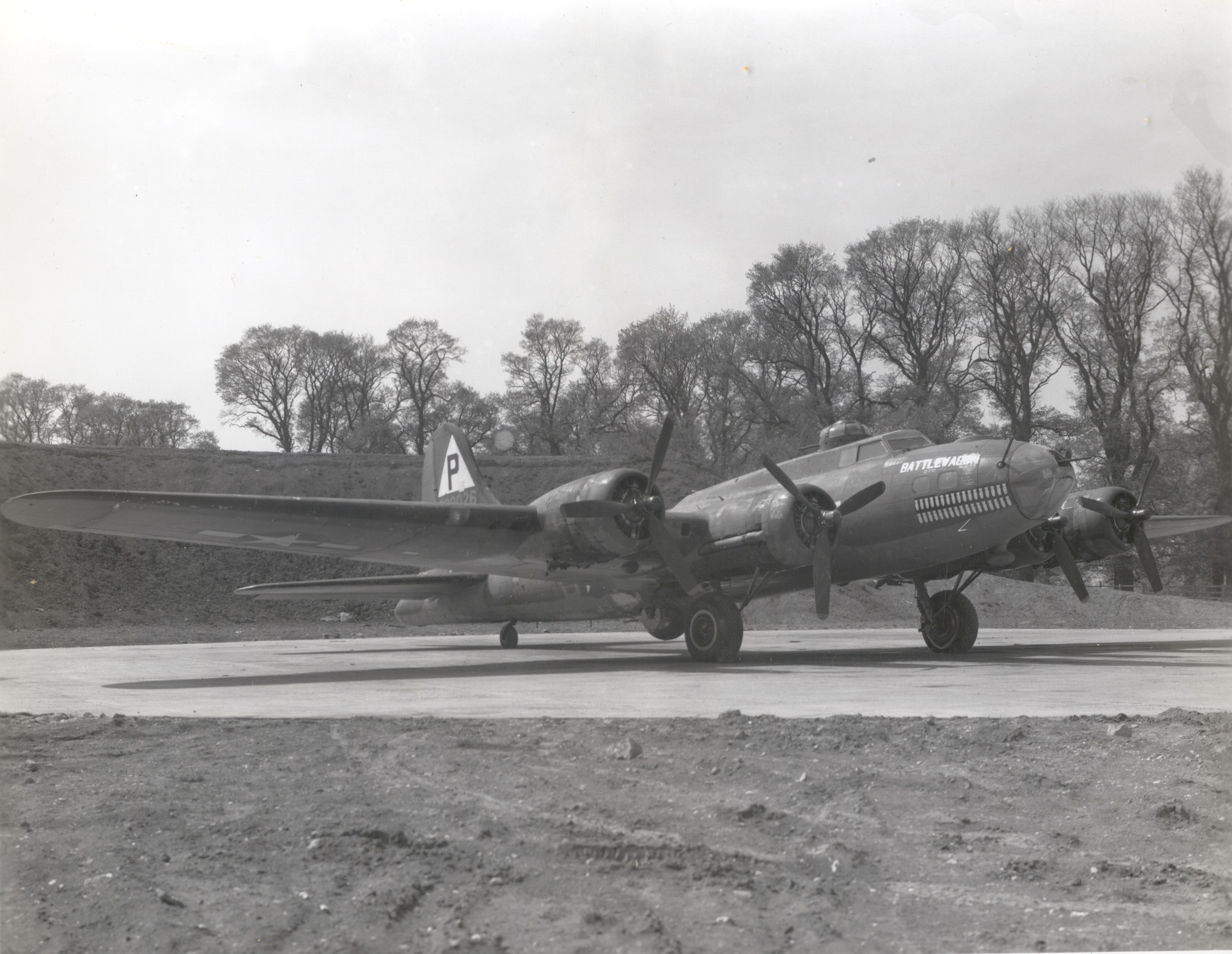 B-17 #42-30026 / Battle Wagon