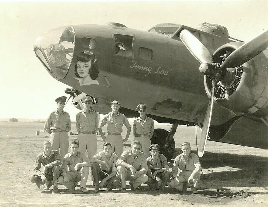 B-17 #42-3077 / Jenny Lou