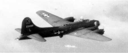 B-17 #42-31088 / Heaven Can Wait