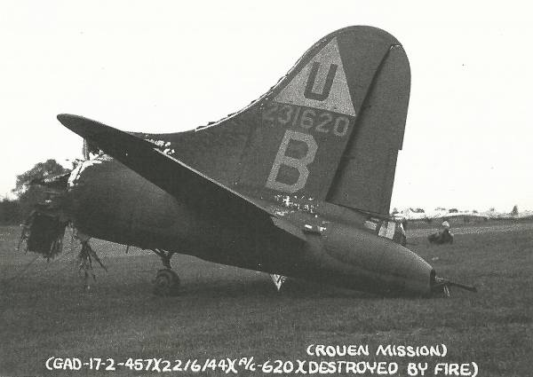 B-17 #42-31620 / Skunk Hollow