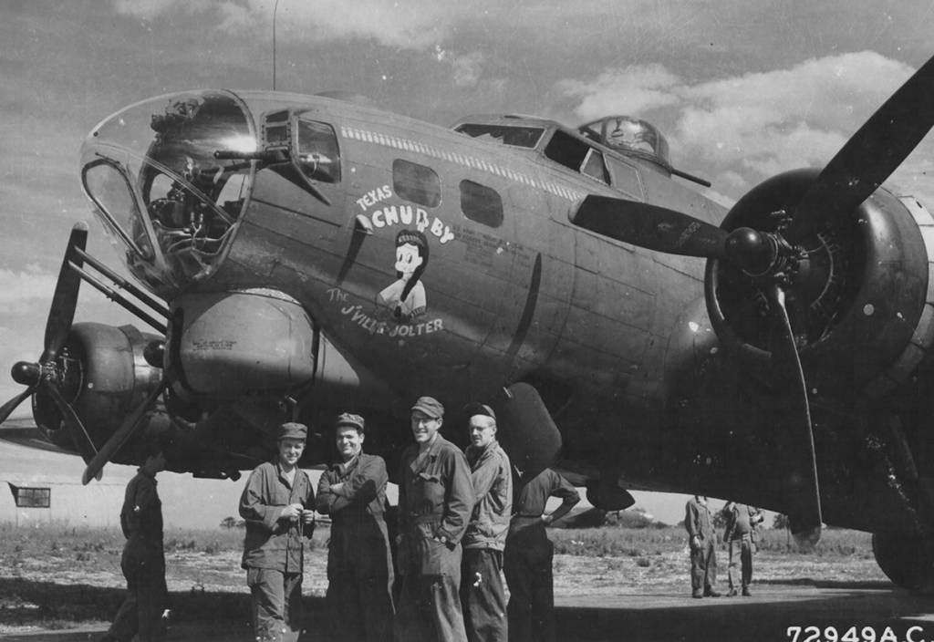 B-17 #42-31634 / Texas Chubby – The J'ville Jolter