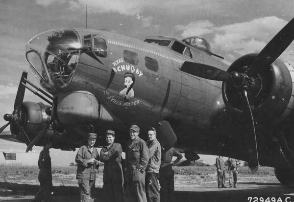 B-17 #42-31634 / Texas Chubby – The J'ville Jolter