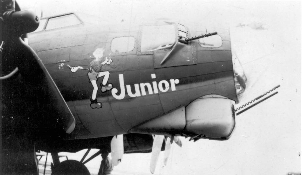 B-17 #42-31762 / Junior aka Crash Wagon III