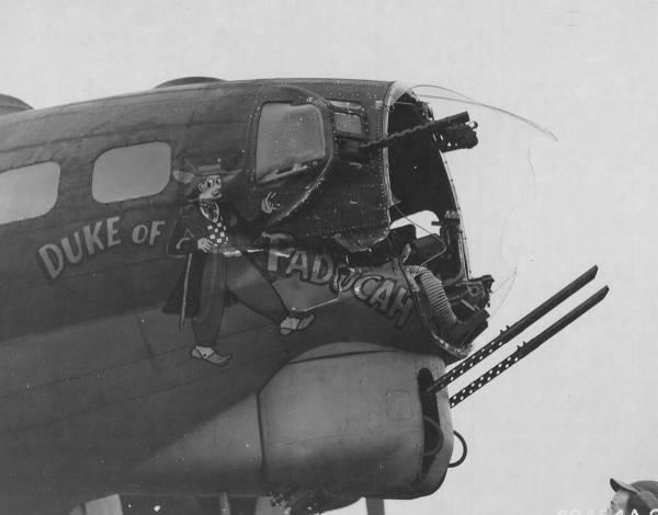 B-17 #42-37736 / Duke of Paducah