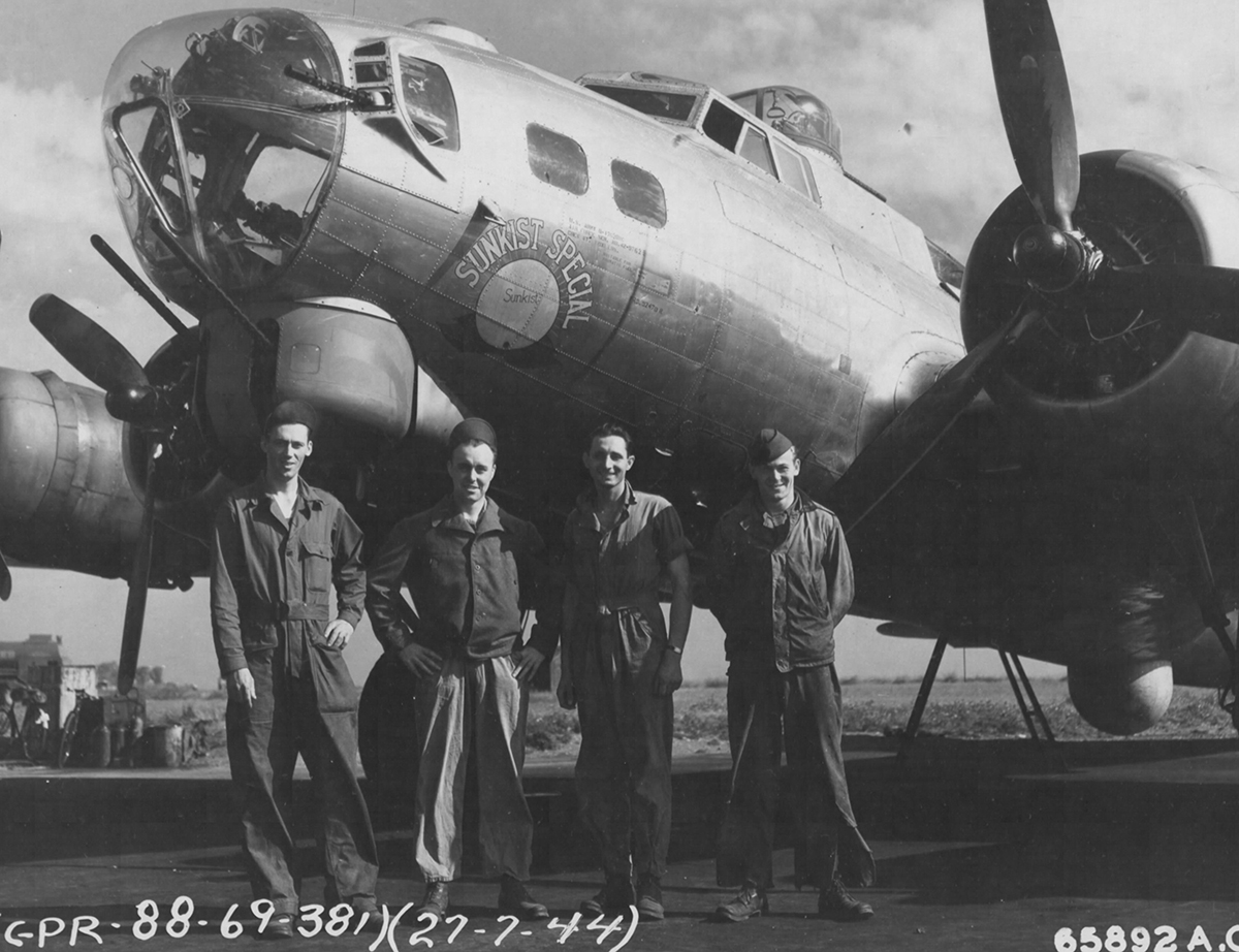 B-17 #42-97625 / Sunkist Special