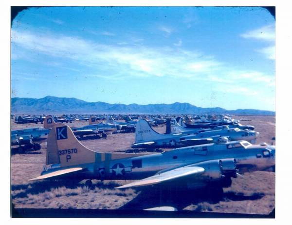 B-17 #43-37570 / Miss Liberty