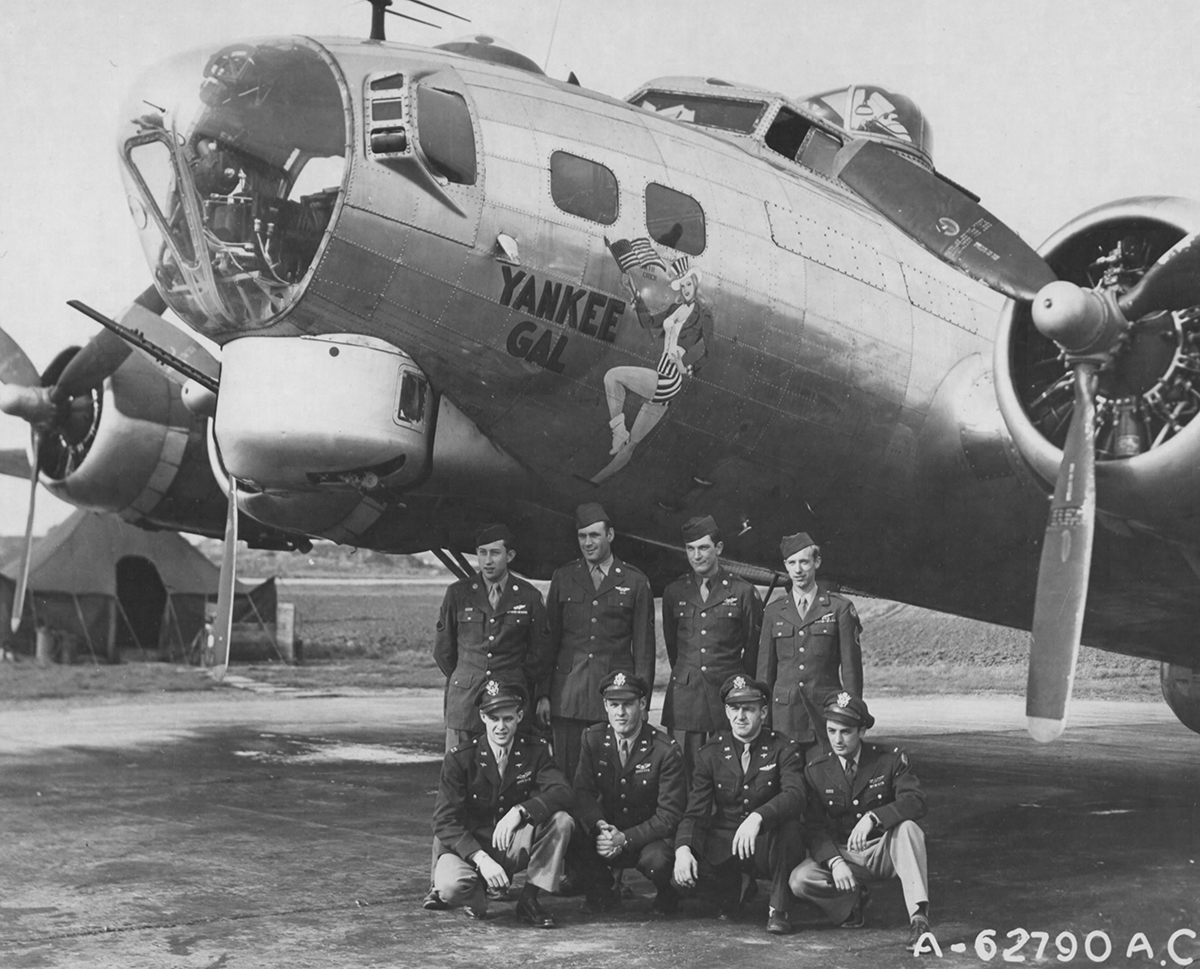 B-17 #43-37844 / Yankee Gal