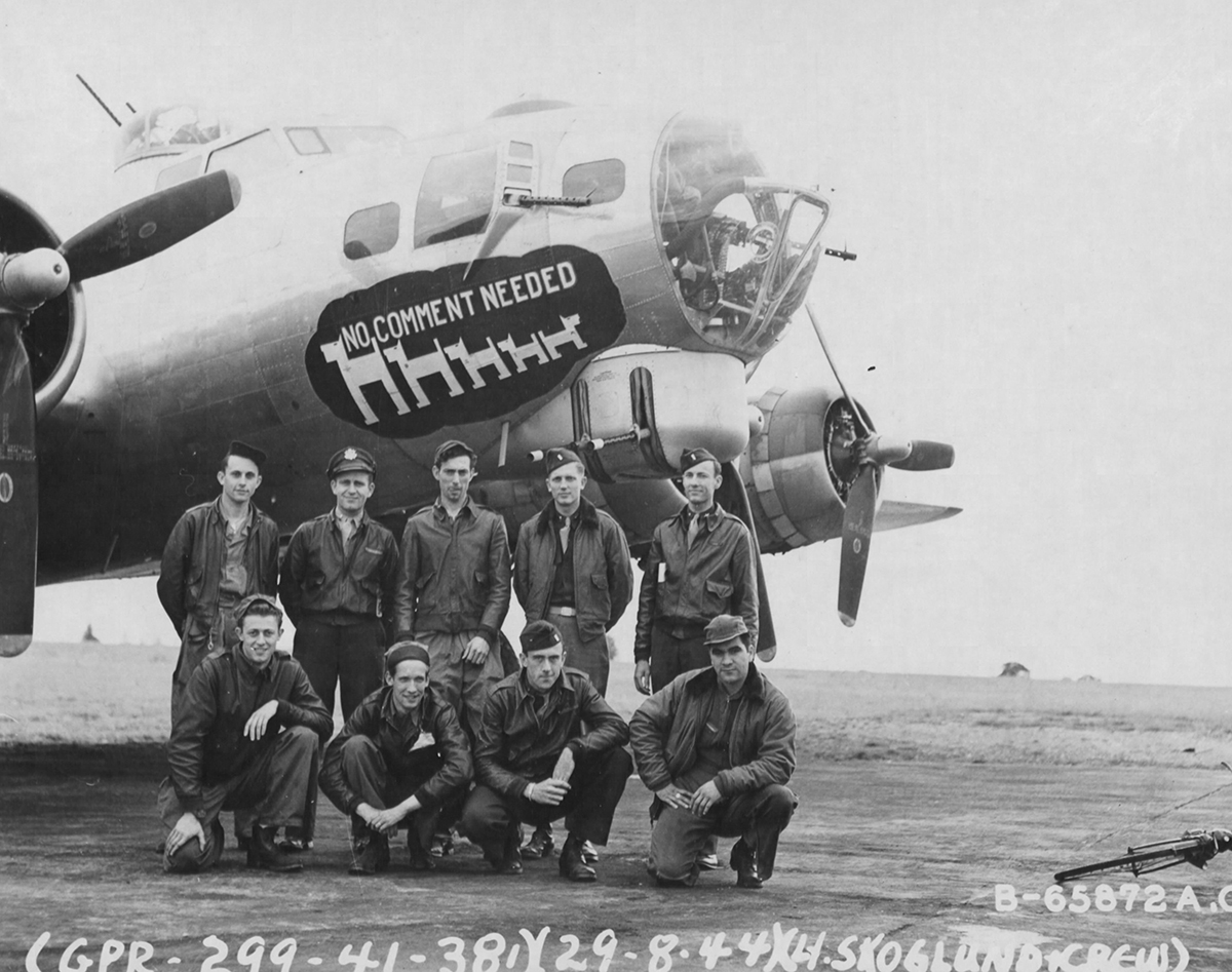 B-17 #43-38114 / No Comment Needed