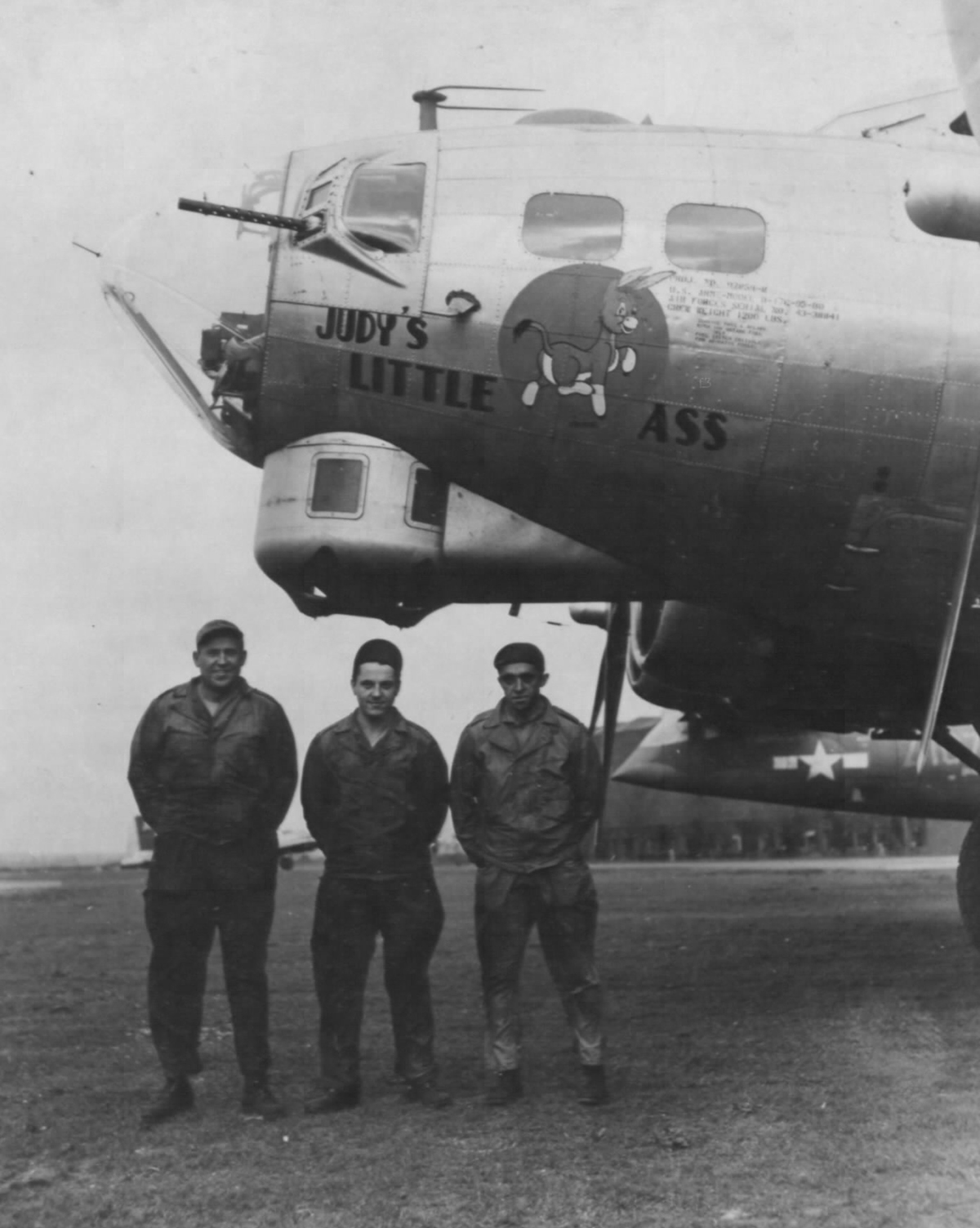 B-17 #43-38841 / Judy's Little Ass
