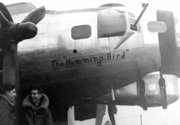 B-17 #44-8305 / The Humming Bird