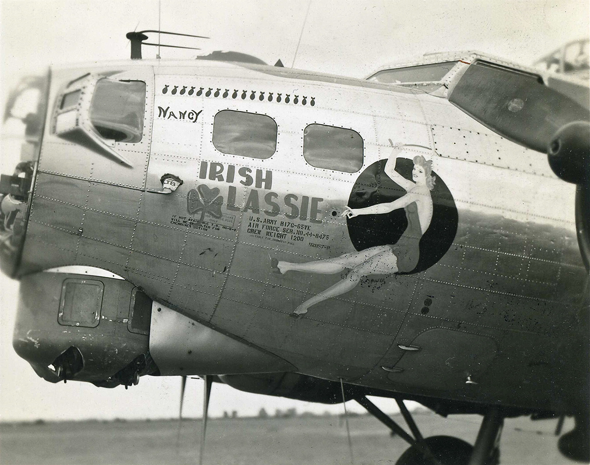 B-17 #44-8475 / Irish Lassie