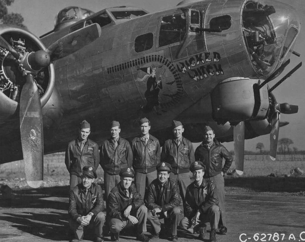 B-17 #42-102490 / Wicked Witch