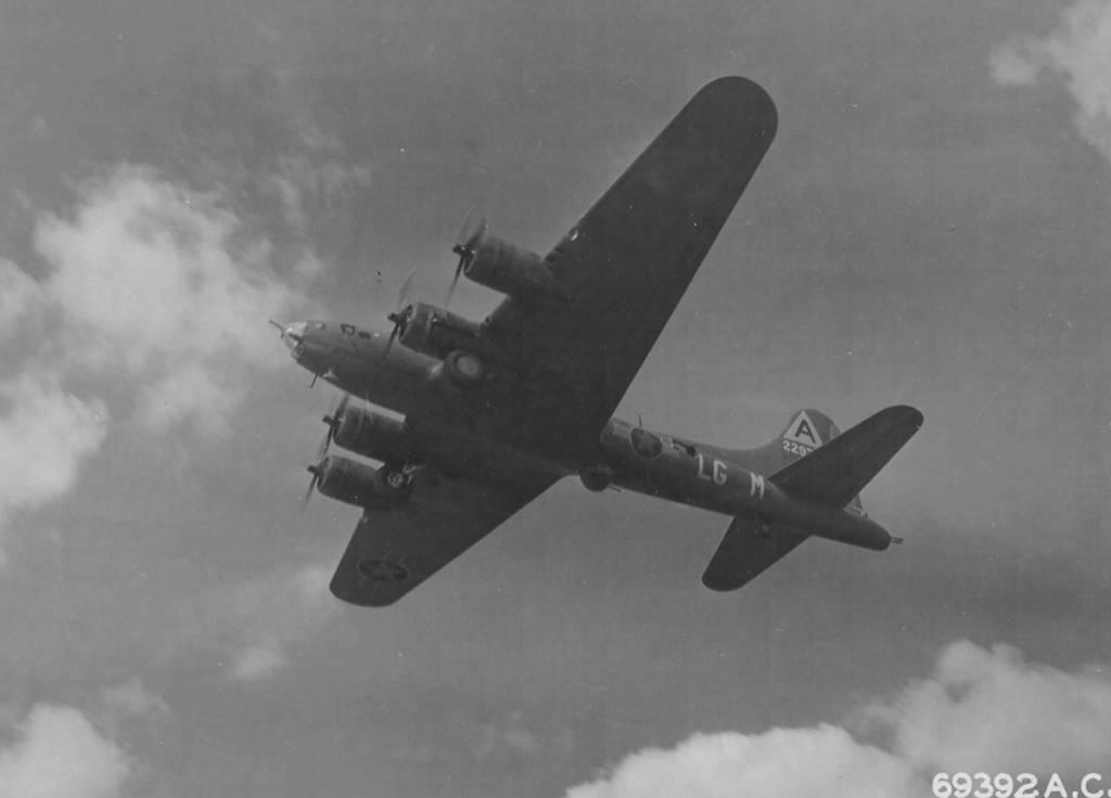 B-17 #42-29778 / Green Fury
