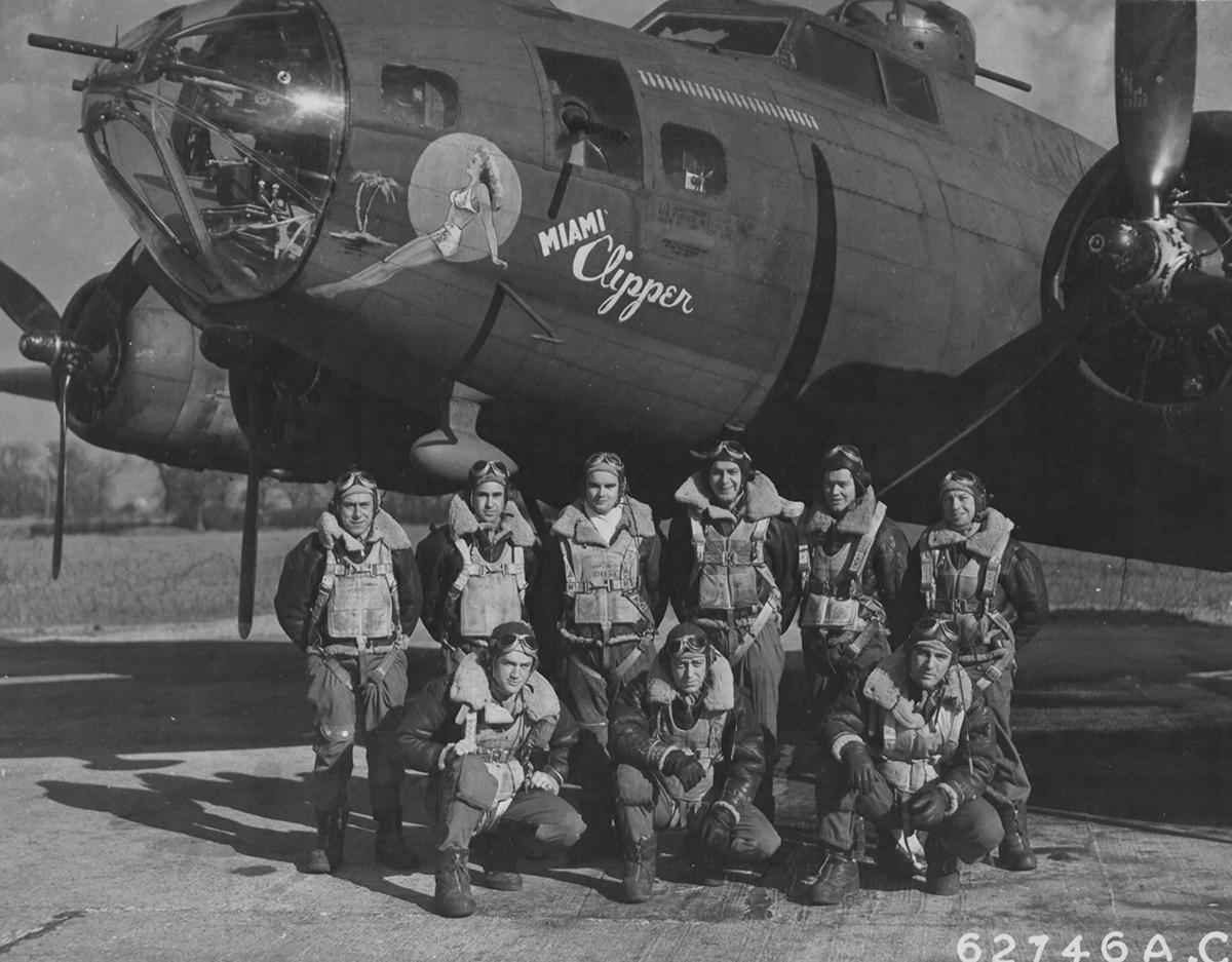 B-17 #42-29815 / Miami Clipper