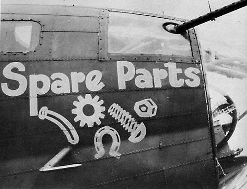 B-17 #42-30114 / Spare Parts