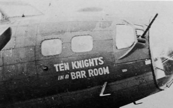 B-17 #42-30353 / Ten Knights in a Bar Room
