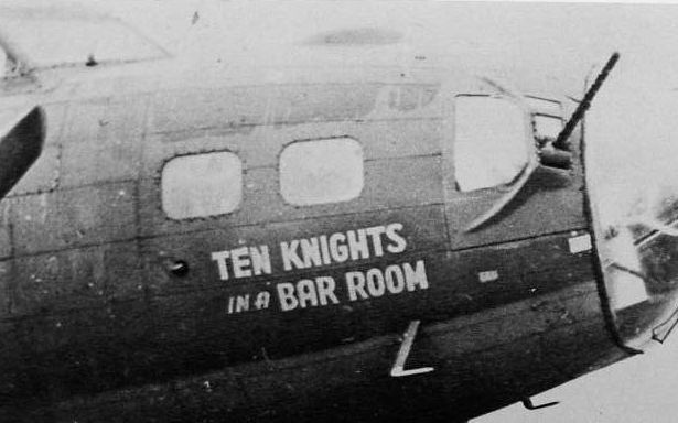B-17 #42-30353 / Ten Knights in a Bar Room