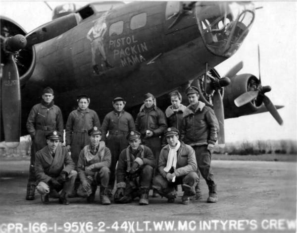 B-17 #42-30609 / Pistol Packin' Mama