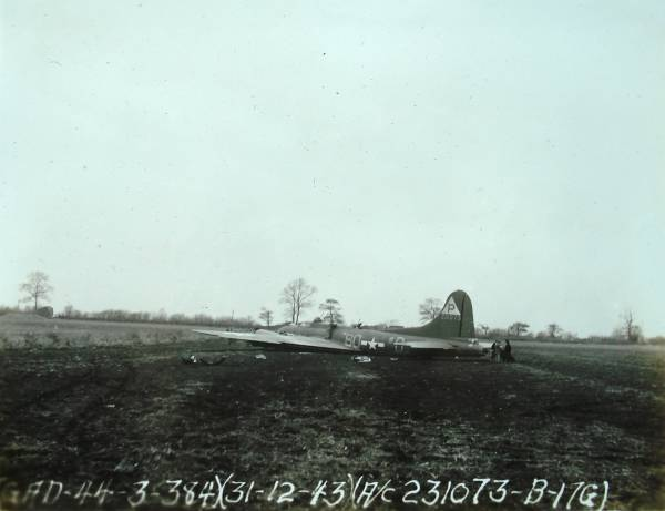 B-17 #42-31073 / Billie-Del