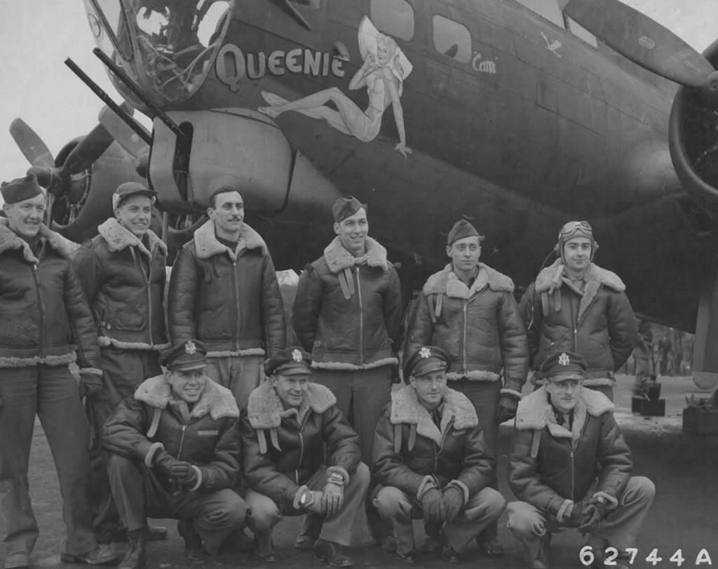 B-17 #42-31353 / Queenie