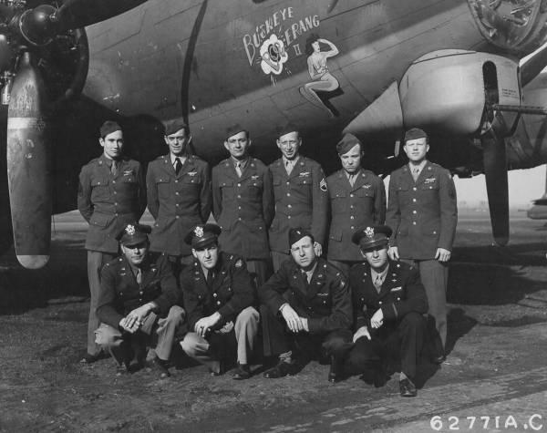 B-17 #42-31672 / Buckeye Boomerang II