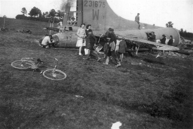 B-17 #42-31675 / Berlin Bessie