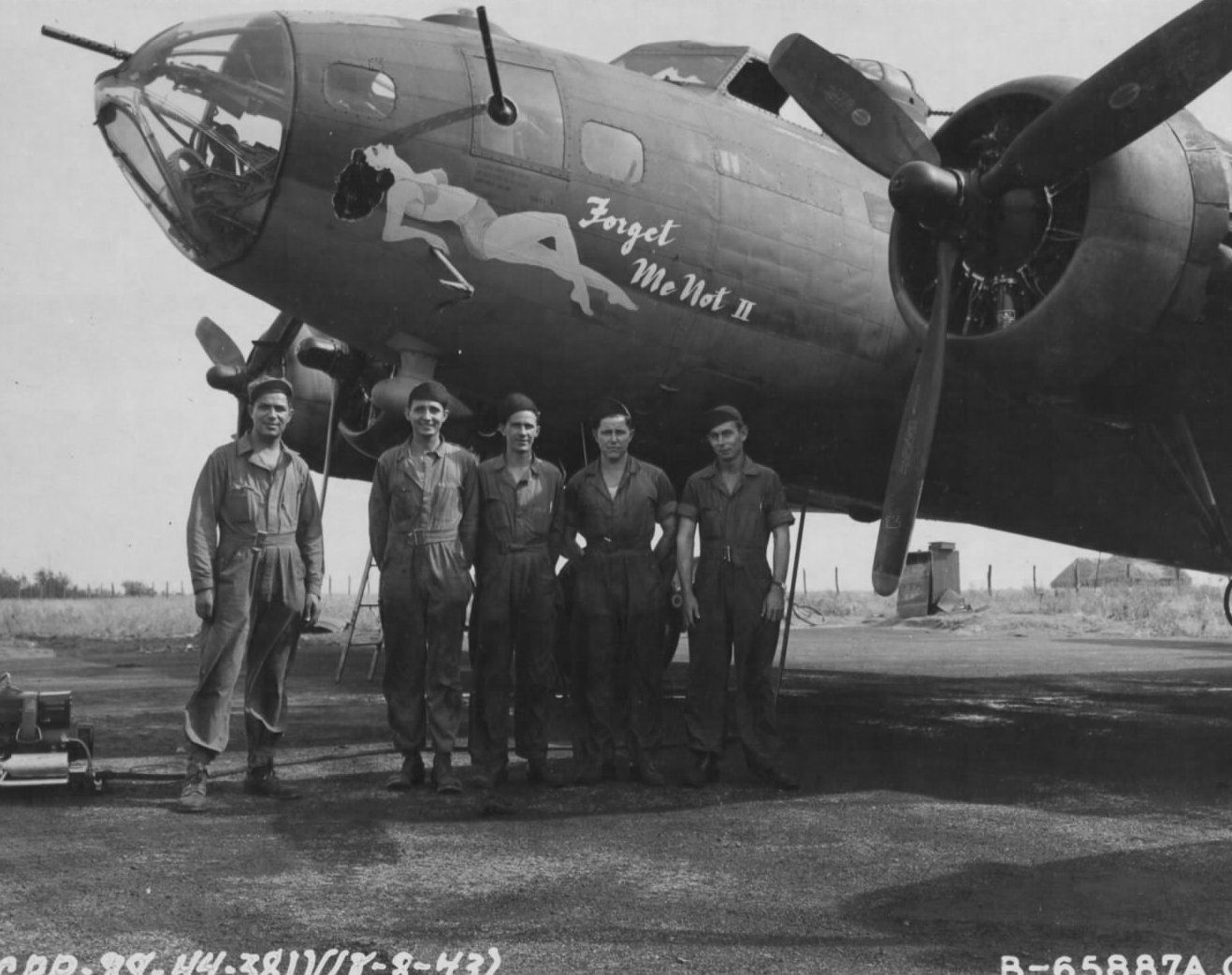 B-17 #42-3180 / Forget Me Not II aka Kiplings Error