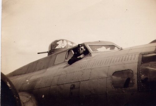 Lt. Reginald C. Holliday, CP on Lt Gummersall Crew.Photo Courtesy of Son Randall Holliday