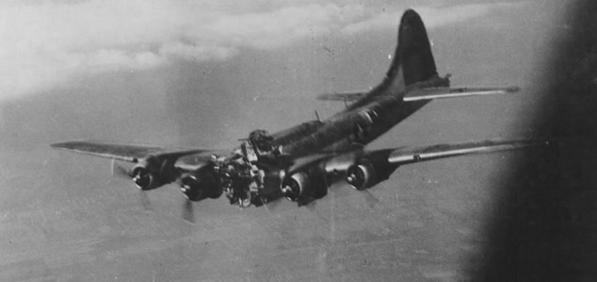 Boeing B-17 #42-32109 / Mizpah