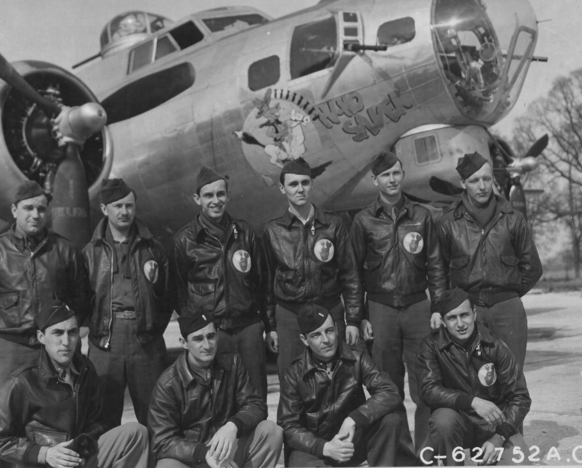 B-17 #42-32116 / Hi Ho Silver