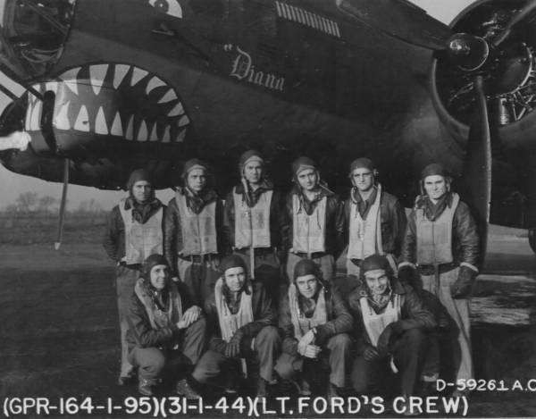B-17 #42-37929 / Diana