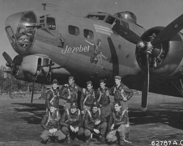 B-17 #42-38144 / Jezebel