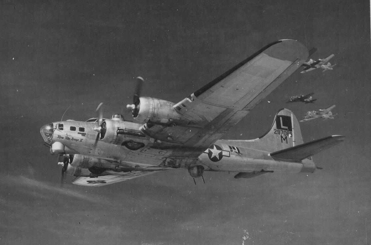 B-17 #42-97069 / Mon Tete Rouge II