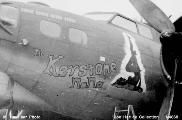 B-17 #42-97455 / Keystone Mama