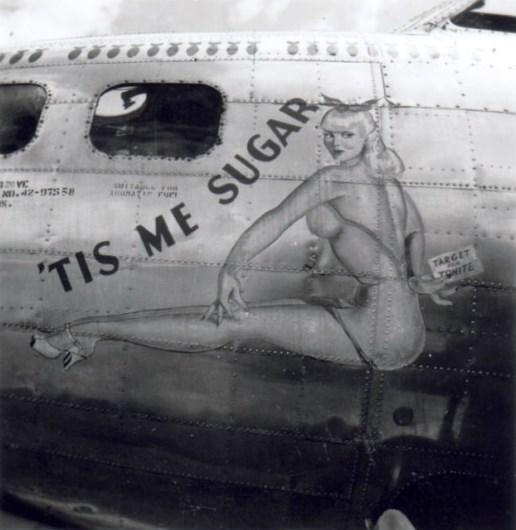 B-17 #42-97558 / Tis Me Sugar