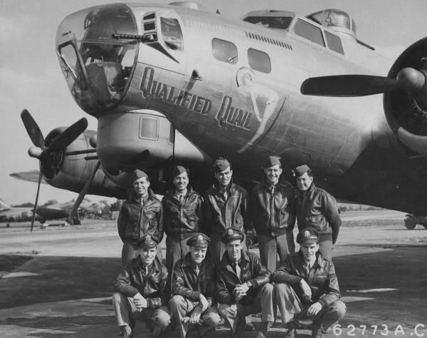 B-17 #42-97851 / Qualified Quail