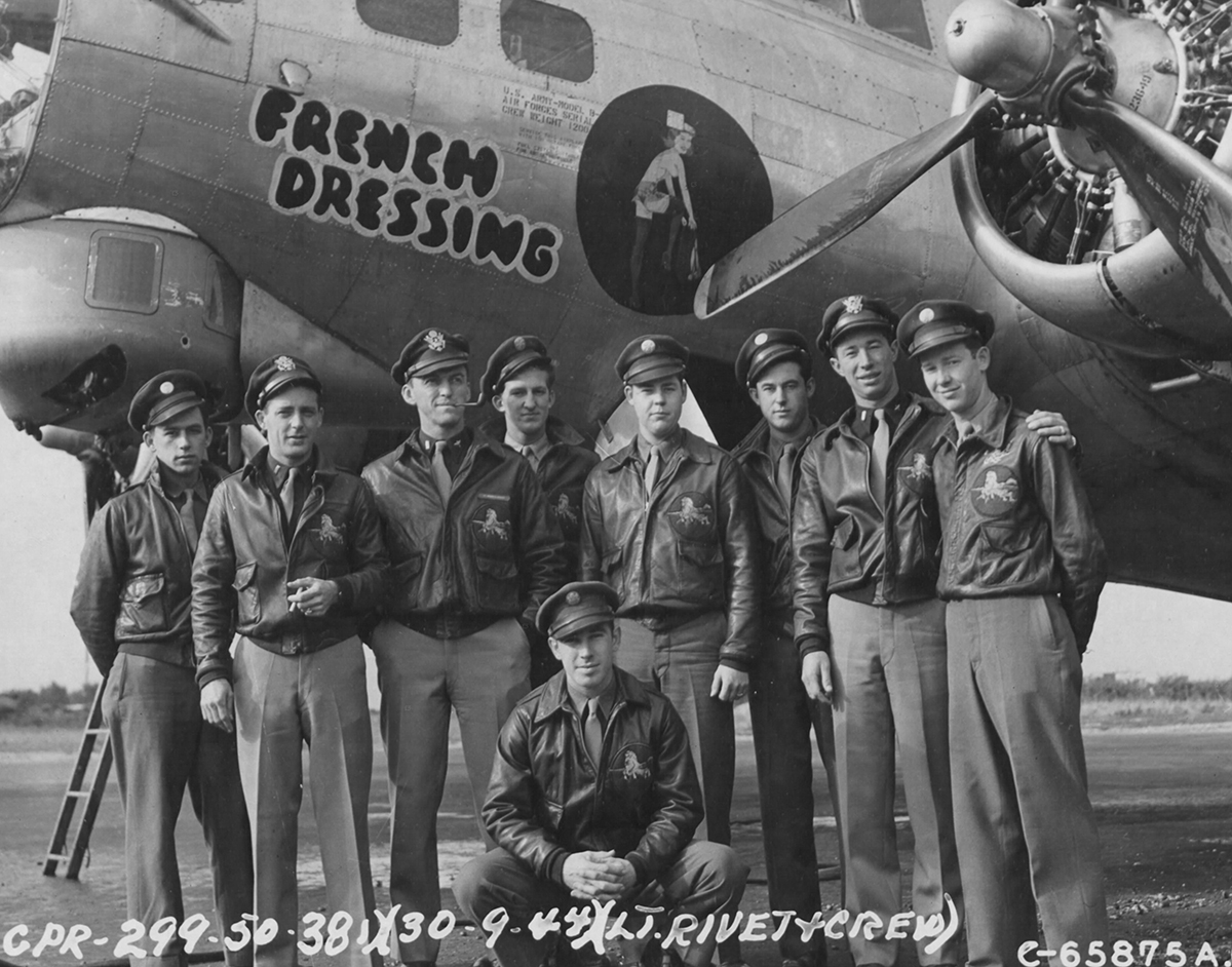 B-17 #43-37536 / French Dressing