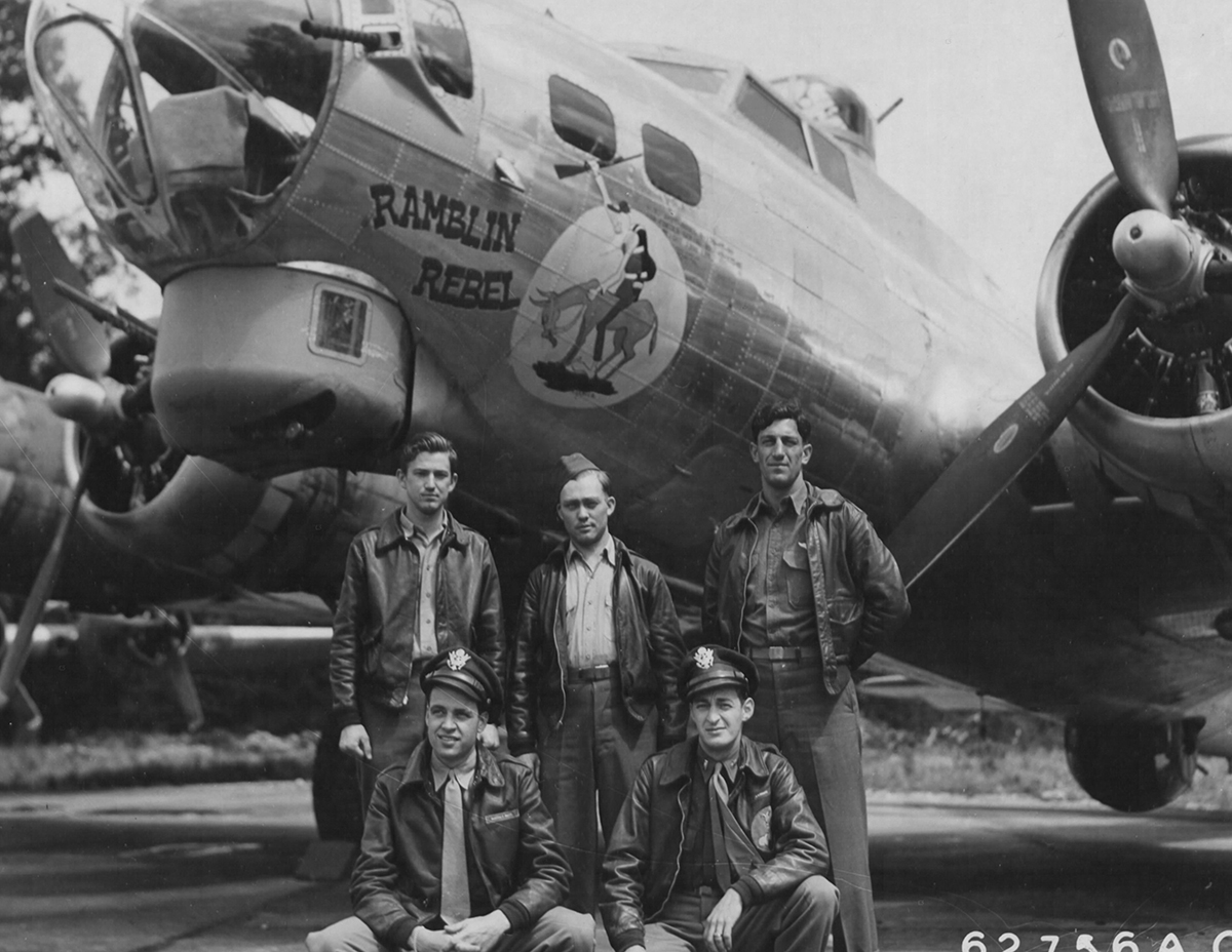 B-17 #43-37540 / Ramblin' Rebel