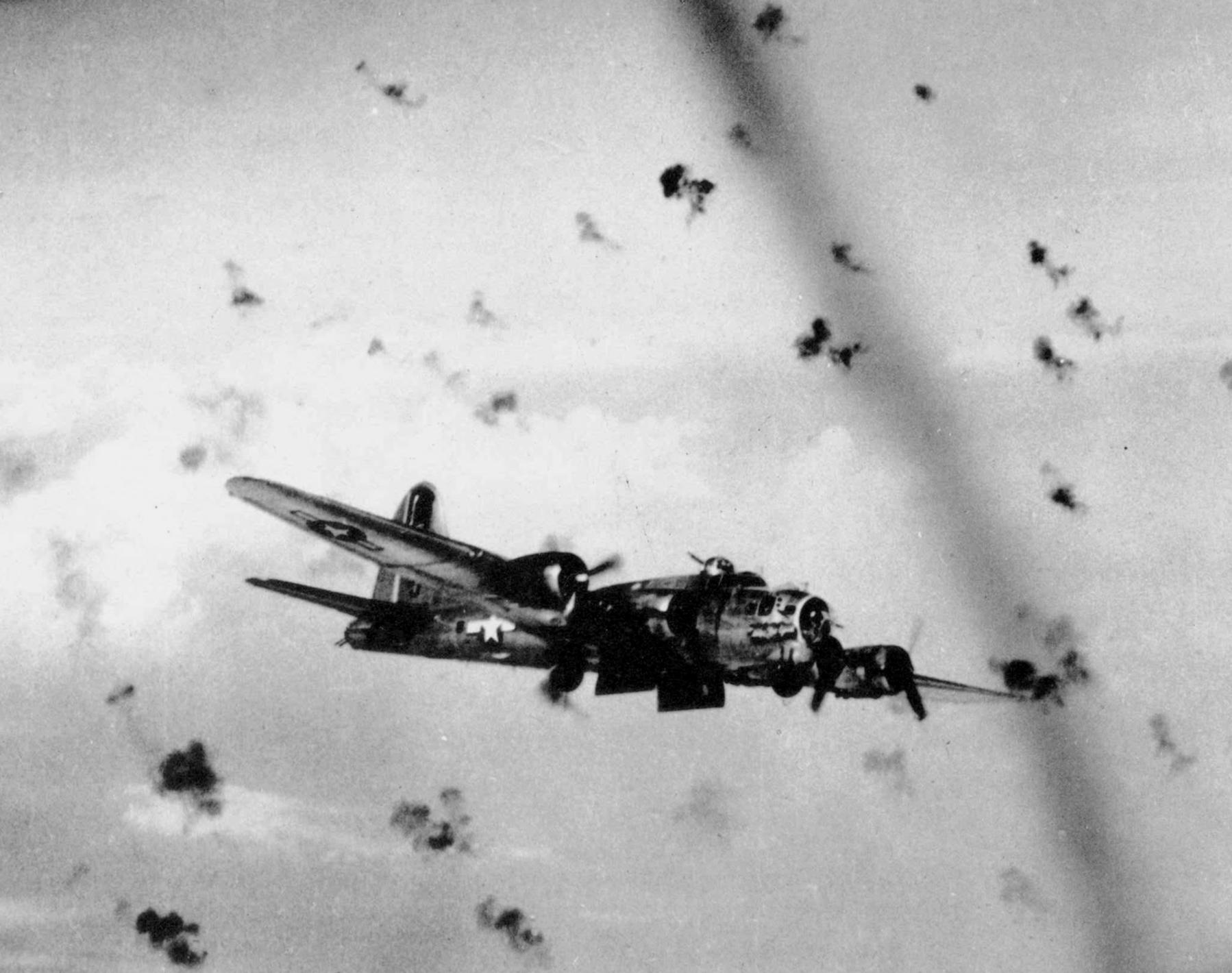 B-17 #43-37563 / Lady Be Good