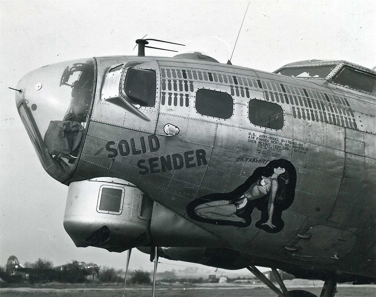 B-17 #43-37616 / Solid Sender