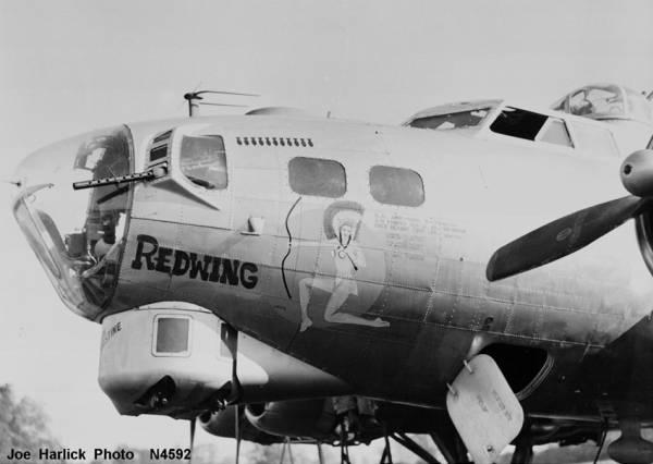 B-17 #43-38088 / Redwing
