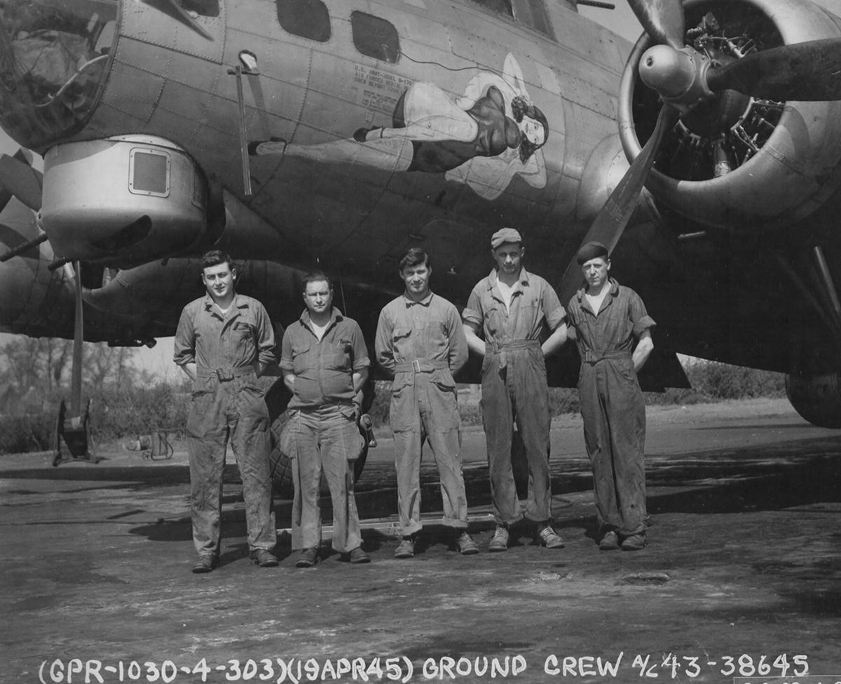 B-17 #43-38645
