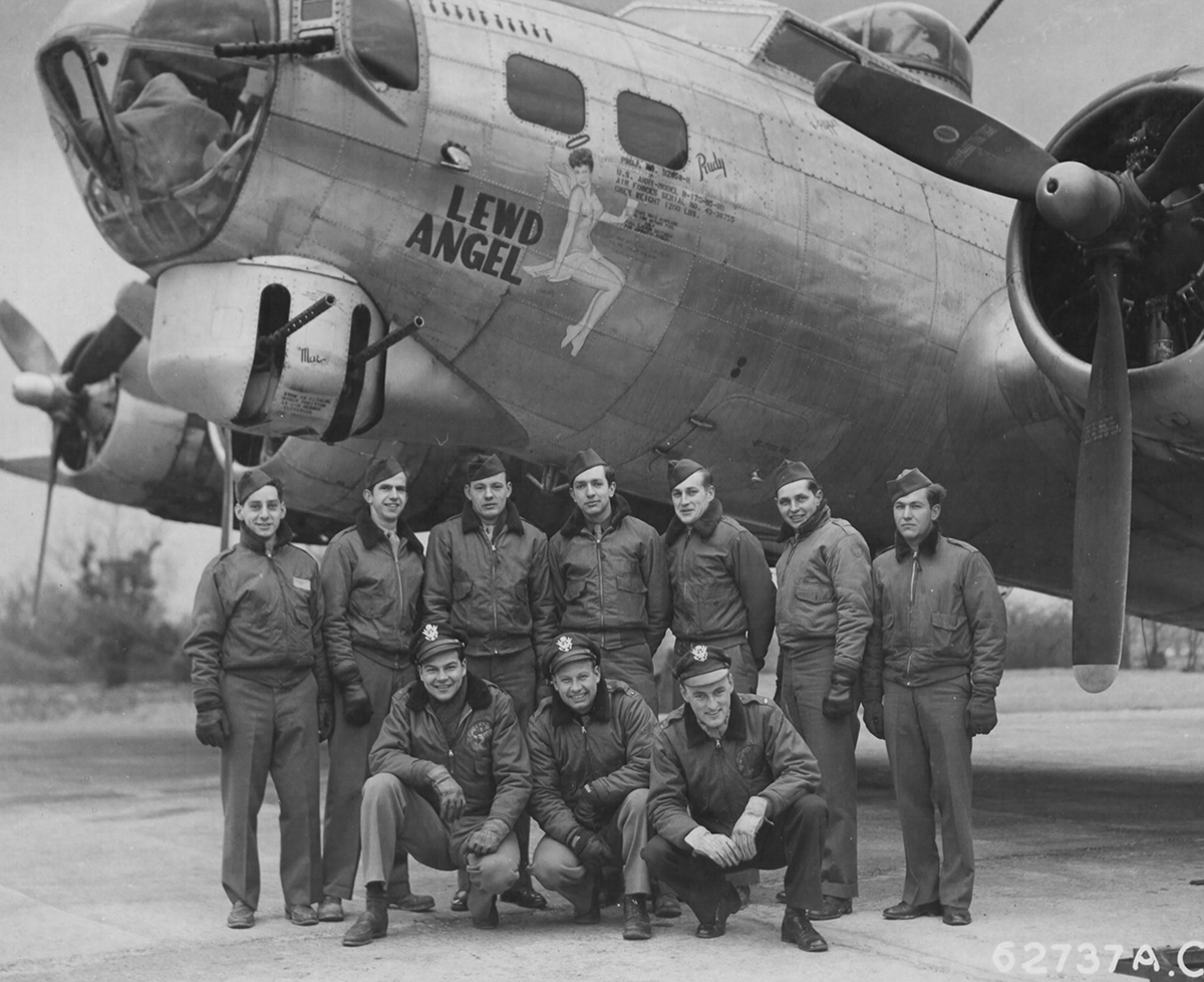 B-17 #43-38755 / Lewd Angel