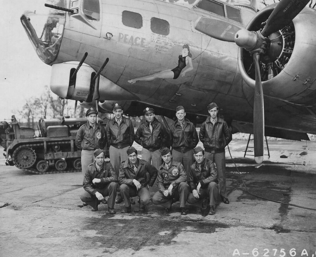 B-17 #43-38939 / Peace or Bust