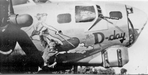 B-17 #44-6100 / Miss D-Day