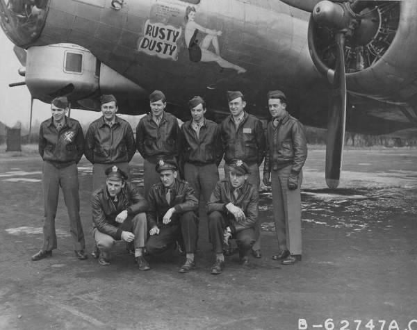 B-17 #44-6578 / Rusty Dusty