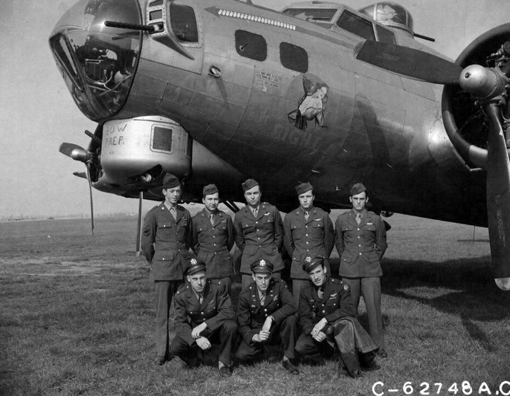 B-17 #44-6931 / Ragged But Right