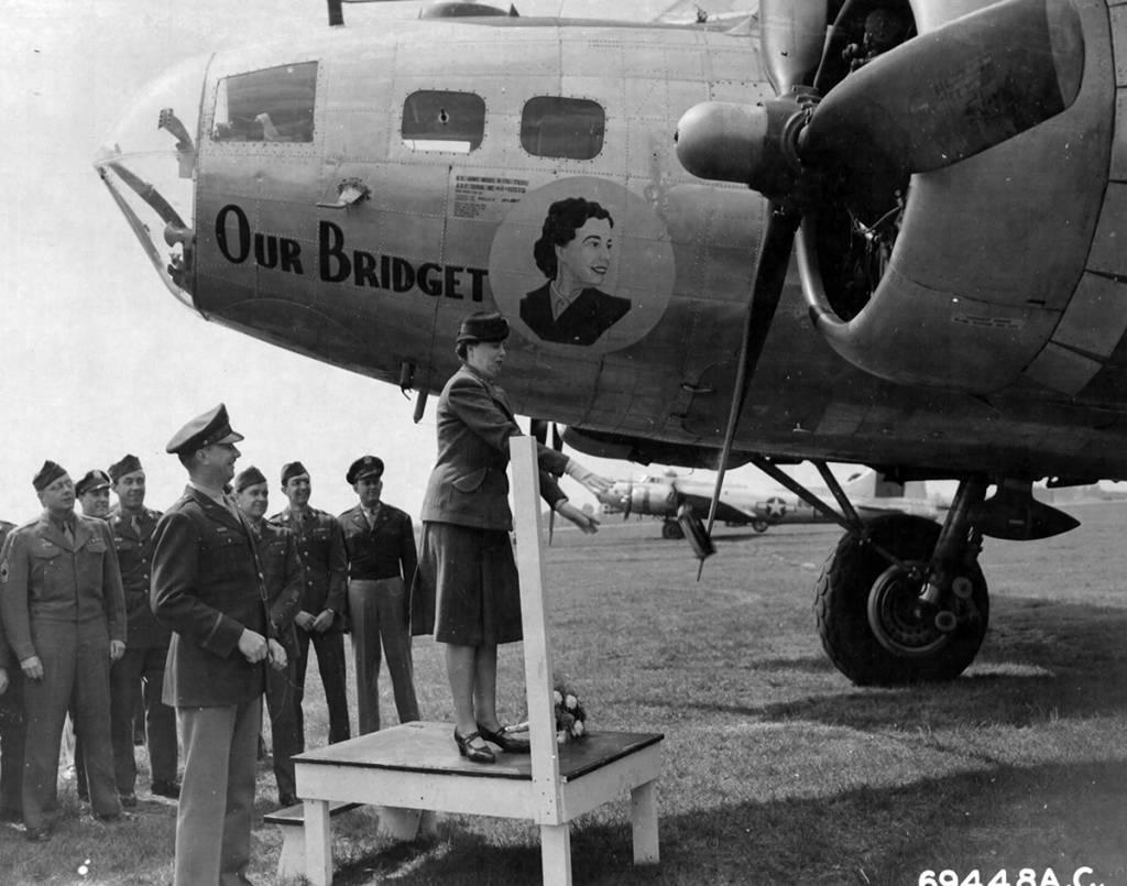 B-17 #44-6975 / Our Bridget