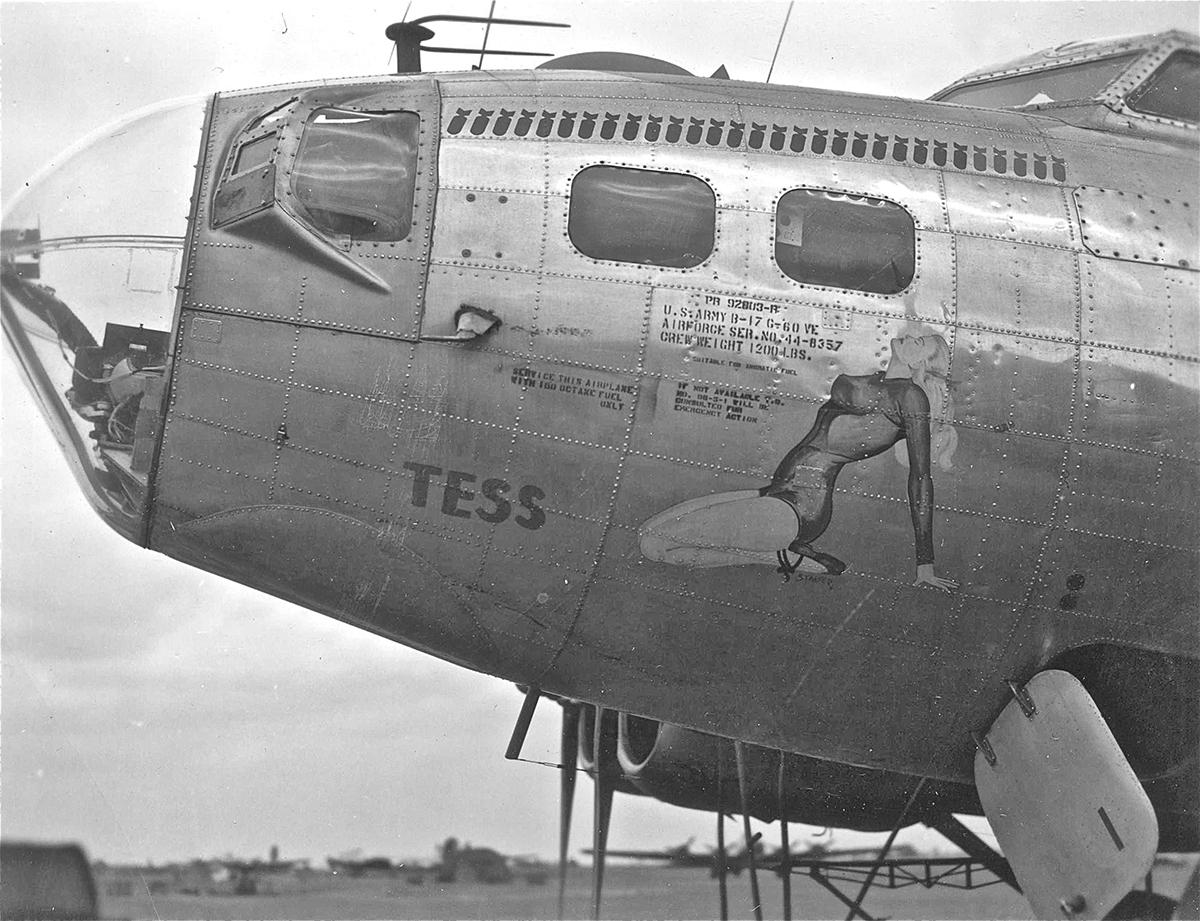 B-17 #44-8357 / Tennessee Tess aka Tess